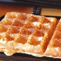 Raised Waffles by circle-b-kitchen via SFChronicle: Lightest ever!