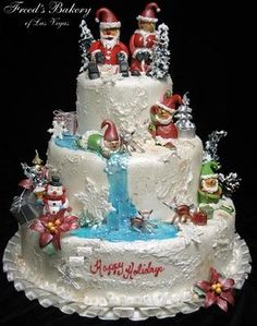 All About Fashion: Latest Varieties Of Cristmas Cakes