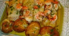 Peixes e Mariscos Cod Recipes, Fish Recipes, Seafood Recipes, Cooking Recipes, Fish Dishes, Seafood Dishes, Fish And Seafood, Food C, Good Food
