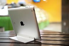 love this sleek ipad stand that works with magnets... magnus stand for iPad 2 $49.95