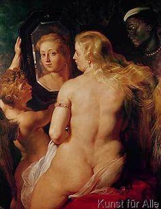 Peter Paul Rubens - The Toilet of Venus, c.1613