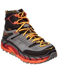 Hoka One One Womens Tor Ultra Hi Waterproof Suede Hiking Shoe 105 Black >>> Be sure to check out this awesome product.