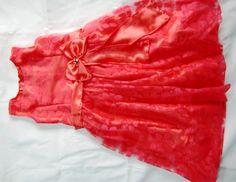 Vintage bow gown / Pageant bow gown Part 2