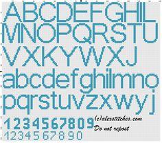 Birth records boy with Tweety Bird alphabet cross stitch pattern ...
