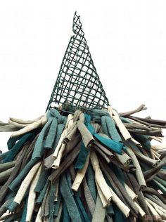 Árbol de navidad con trapillo y sin tejer! | SANTA PAZIENZIA
