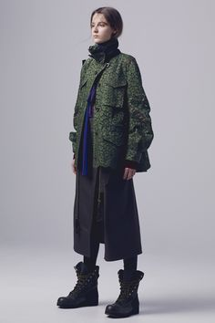 Sacai Pre-Fall 2016 Collection Photos - Vogue