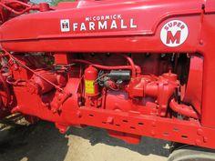 Tractor farmall M Farmall Super M, Farmall Tractors, Old Tractors, Farming Life, International Harvester, Ih, Wheels, Image, Tractors