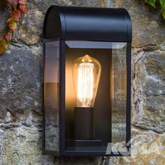 Do you prefer the vintage light bulbs and vintage lamps over the more energy efficient and bright LED lights? Here's a debate why vintage lamps are alright. Black Wall Lights, Black Outdoor Wall Lights, Outdoor Wall Lamps, Outdoor Walls, Astro Lighting, Direct Lighting, Shop Lighting, Exterior Wall Light, Exterior Lighting