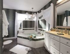 Bathroom designs by Decorating Den Interiors.  Want this look?  Call Blane Interiors to set up your FREE consultation 913-732-2990.  Visit our website www.beckylane.decoratingden.com
