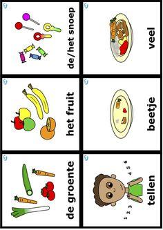Eet Smakelijk! - Uk en Puk - Woordkaarten