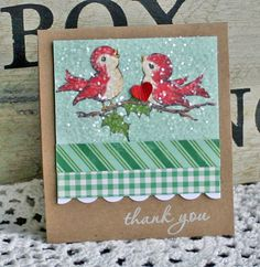 Danni Reid shares a tip for making simple thank you cards that pack a punch