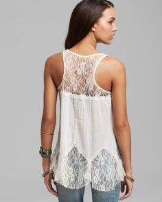 Free People Tank - Bell Trapeze | Bloomingdale's