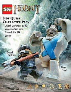LEGO The Hobbit Video Game : Side Quest Character Pack (DLC)  - www.lordofthebrick.com