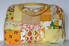 Amazing Patchwork Duffle from Gingercake | pdf pattern