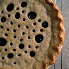 ~ Petunia Buttercup's Hot Buttered Rum Raisin Pie ~ MyPiary