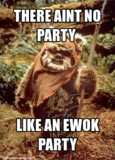 35 Most inspiring Ewok birthday party images Star wars