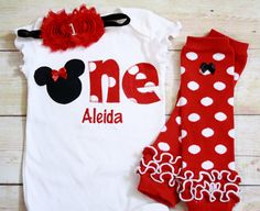 Hey, I found this really awesome Etsy listing at https://www.etsy.com/listing/201978910/minnie-mouse-inspired-birthday-one-shirt