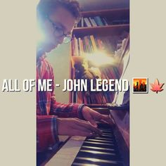 New Piano Cover on instagram smile emoticon John Legend is the PianoLegend!