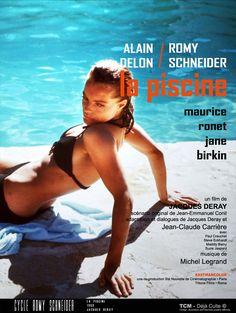 La Piscine, 1969, starring Romy Schneider, Alain Delon, Jane Birkin