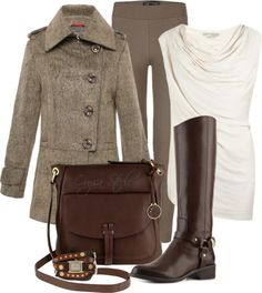 """""""Leggings and Boots"""" by orysa ❤ liked on Polyvore"""