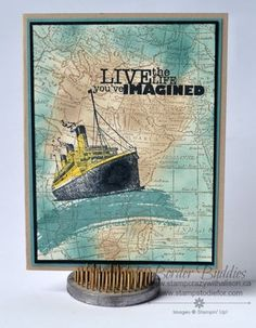 Step Up Stampin' with Traveler!