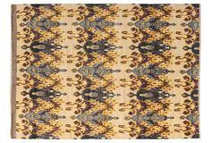 """One Kings Lane - Furniture & Rugs - 9'x12'3"""" Millenia Ikat Rug, Beige"""