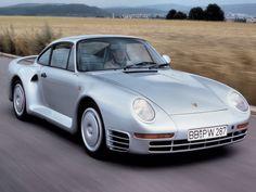 La Porsche 959 fut développée par la marque dans l'objectif d'intégrer le Groupe B. La FIA autorisait les constructeurs à accéder à cette compétition avec un de leurs modèles à partir de 200 exemplaires produits. Porsche ne fera pas une 959 de plus. Sa puissance est de 450 chevaux pour 1 450 kg. Certains modèles dépassent les 500 000 euros.