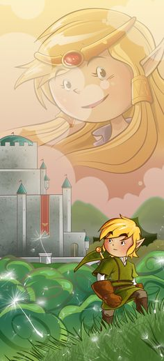 Legend of Zelda  Created by NIDO