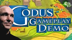 GODUS Gameplay Demo! Peter Molyneux shows off his new God-Game to Adam S...