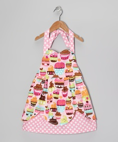 Pink Birthday Cupcake Dress - Toddler & Girls | Daily deals for moms, babies and kids