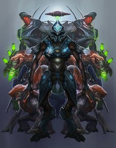 #Halo 4 Enemies by Garrett Post