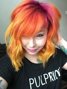 Sunset hair XoStylistXo