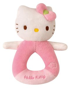 Hello Kitty Baby Ring Rattle 14cm