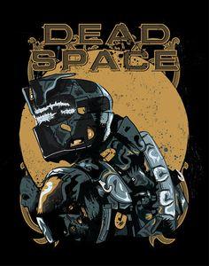 Dead Space Poster - Yuri Del Duca