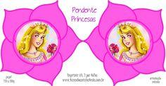 Molde Pendente Princesas -  Aurora