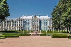 "* Palácio de  ""Tsarskoe Selo"" * Antiga Residência Imperial da Família Romanov. # São Petersburgo, Rússia."