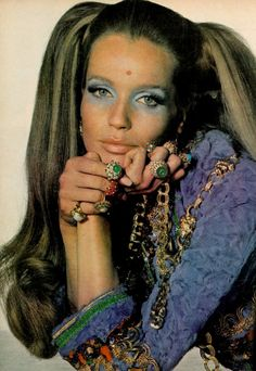 Veruschka for Vogue, 1969 - she changed fashion for good and was the first superstar model of the Sixties.