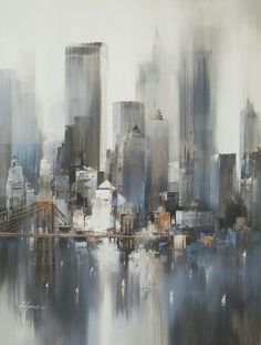 Acrylic painting: