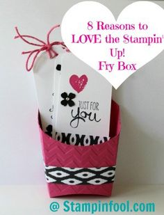 stampin up fry box