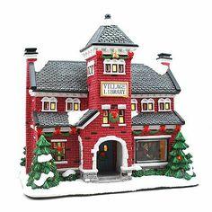 St. Nicholas Square® Village Collection Village Library