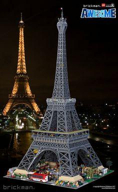 LEGO® Brick Eiffel Tower | by TheBrickMan