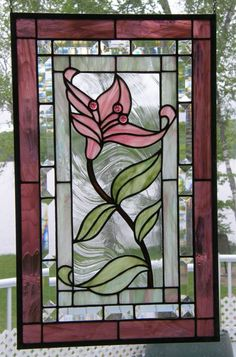 01f74939ad864c1b4db236745862c07c--stained-glass-flowers-stained-glass-art.jpg (570×864) #StainedGlassILove!❤ #StainedGlasses