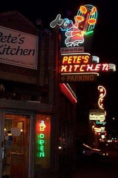 Pete's Kitchen is a Denver, CO landmark and an amazing diner open 24/7. Can't believe I missed it when I lived there.