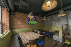 #plytkiceglane wykonane przez nas w #restauracjawarszawa. Restauracja u Rysia słynie z m.in. rybnych dań. Powstał ciekawy klimat, nieprawdaż?   #regaliapolskamanufaktura #plytkinasciane #płytki #plytkaceglana #pomyslnasciane #restauracja #staracegla