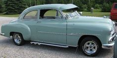 Chevrolet: Sedan Chrome 1951 chevy 2 door sedan seafoam green 235 6 cylinder manual transmission Check more at http://auctioncars.online/product/chevrolet-sedan-chrome-1951-chevy-2-door-sedan-seafoam-green-235-6-cylinder-manual-transmission/