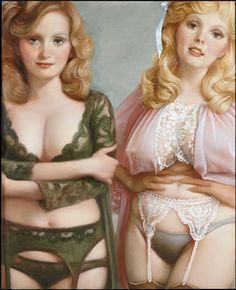 John Currin 1st painting exhibition in Paris at Gagosian Gallery