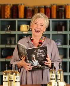 Maggie Beer is truly one of Australia's greatest home cooks.  Her recipes and cookbooks have inspired millions of food lovers around the world and her affable nature is infectious yet so inspiring.  Her contribution to the advocacy of sustainability of local produce in the Barossa Valley is immense.  The vibrancy of this beautiful region in South Australia is the culmination of the spirit and dedication of so many fine artisans who have been inspired by Maggie.