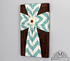 Fabric Wall Cross, simple and pretty Wooden Crosses, Crosses Decor, Wall Crosses, Decorative Crosses, Mosaic Crosses, Burlap Cross, Rustic Cross, Rustic Wood, Home Crafts