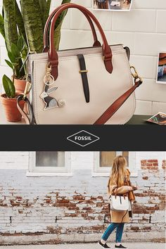 3b9735fd8 Shop the Fossil Ryder handbag and our latest neutral bags for women, and  find the