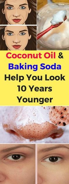 Coconut Oil & Baking Soda Help You Look 10 Years Younger – healthycatcher